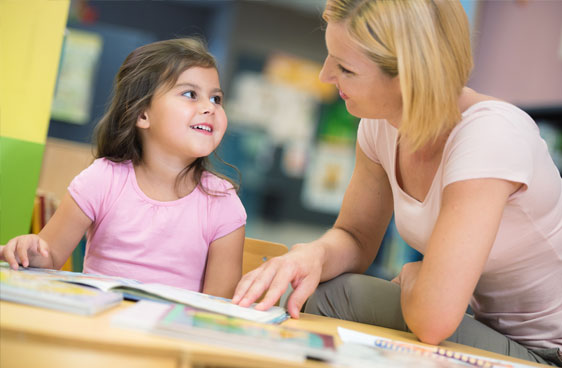 Teaching a child to read