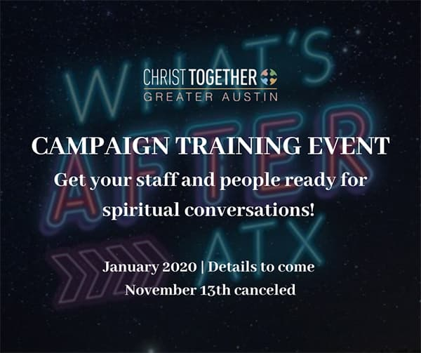 campaign training event :: 01.20.20