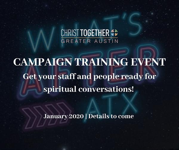 campaign training event